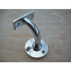 Polished Aluminium handrail bracket