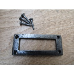 Simple Rectangular Plain Card Frame Holder