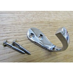 Single robe hook Polished Chrome Chrome