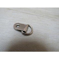 Pack of 20 D Rings Small Single Nickel Silver