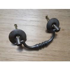 Steel Drop Chest Swing Handle Antique Iron