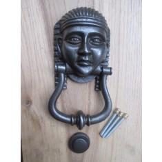 Tutankhamun Door Knocker Antique Iron