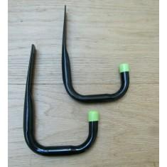 Pack of 2 Universal Storage Hooks 11cm