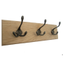 Victorian Styled 3 Hooks Coat Rack