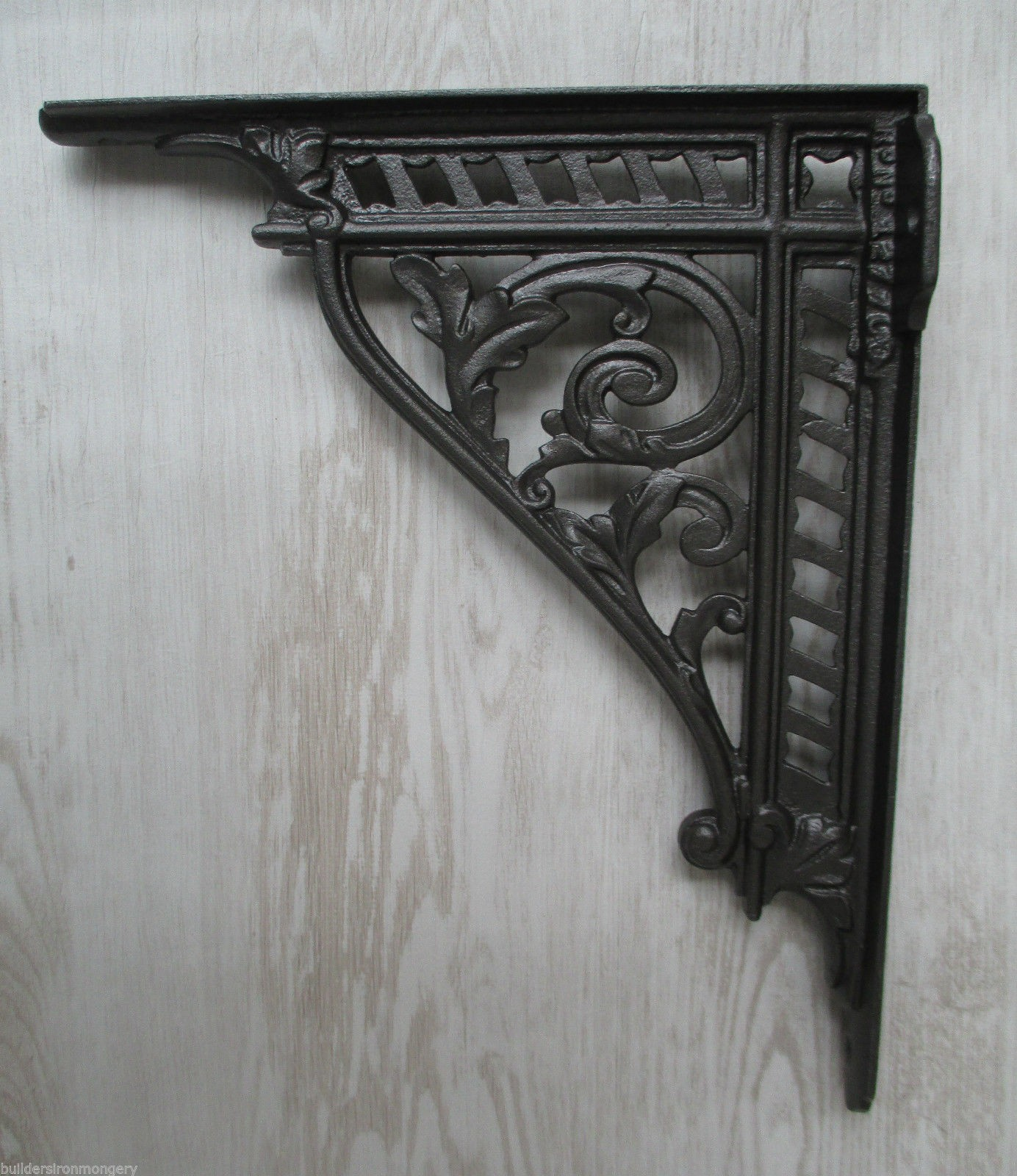 Pair Of Large 12 Quot Cast Iron Shelf Bracket Wall Mounted