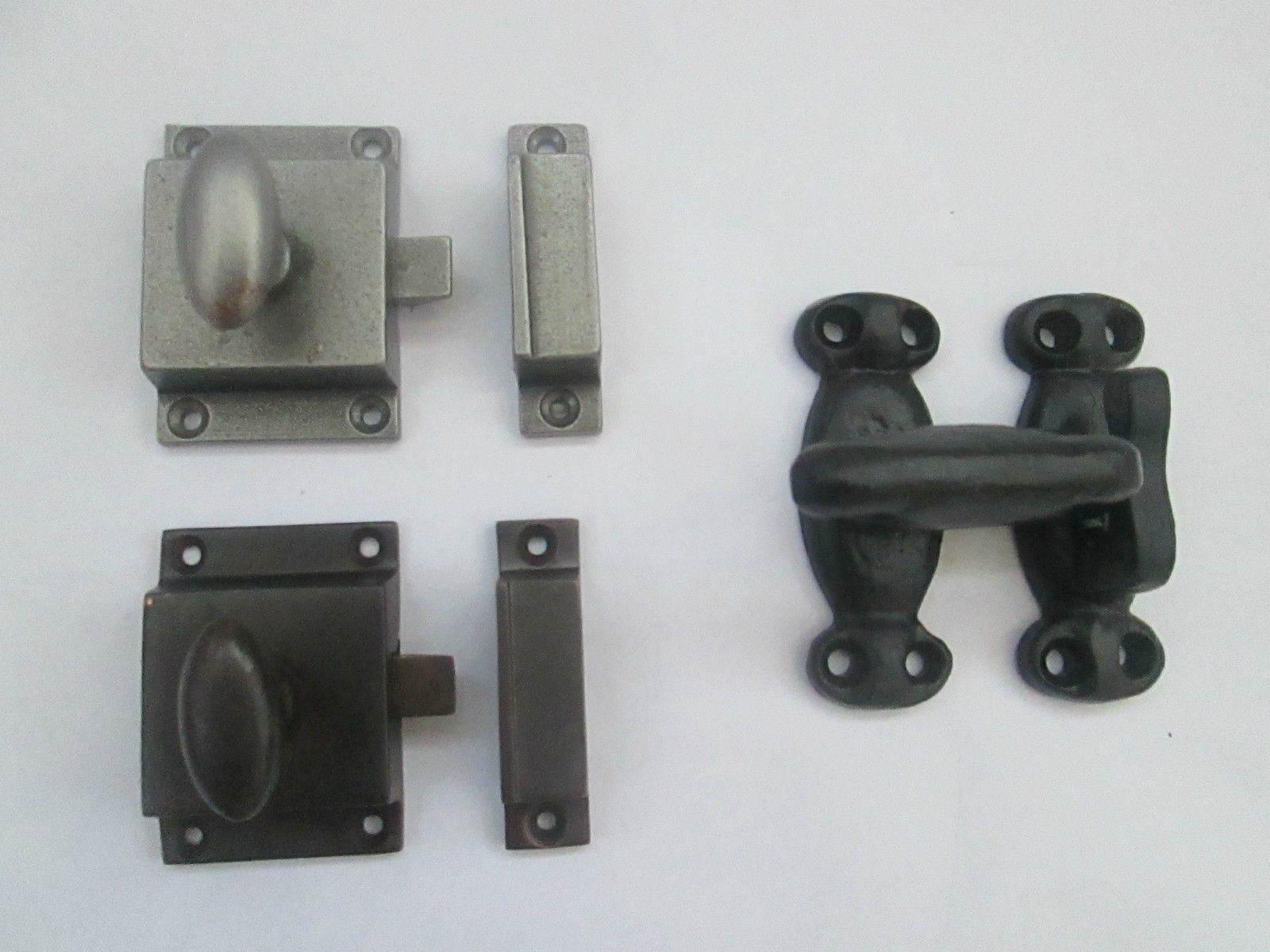 Cast Iron Cupboard Cabinet Door Thumb Turn Catch Latch