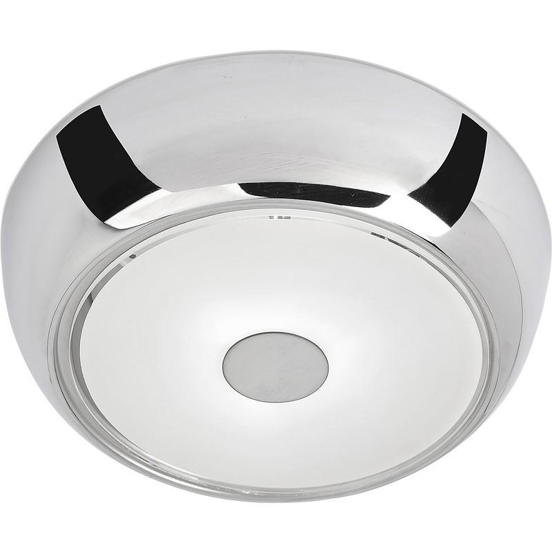 Bathroom Light Fittings Toolstation: Ostria LED Chrome Flush