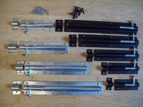 Heavy Duty Gate Or Shed Tower Bolts Ironmongery World