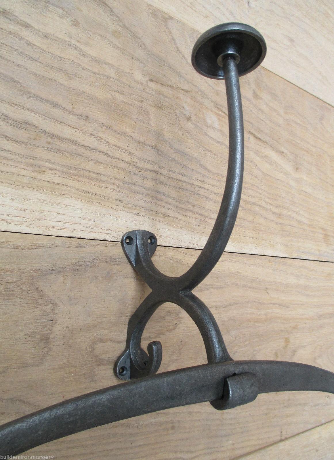 OCEAN LINER Vintage rustic Clothes coat jacket hanger rack wall mounted stand