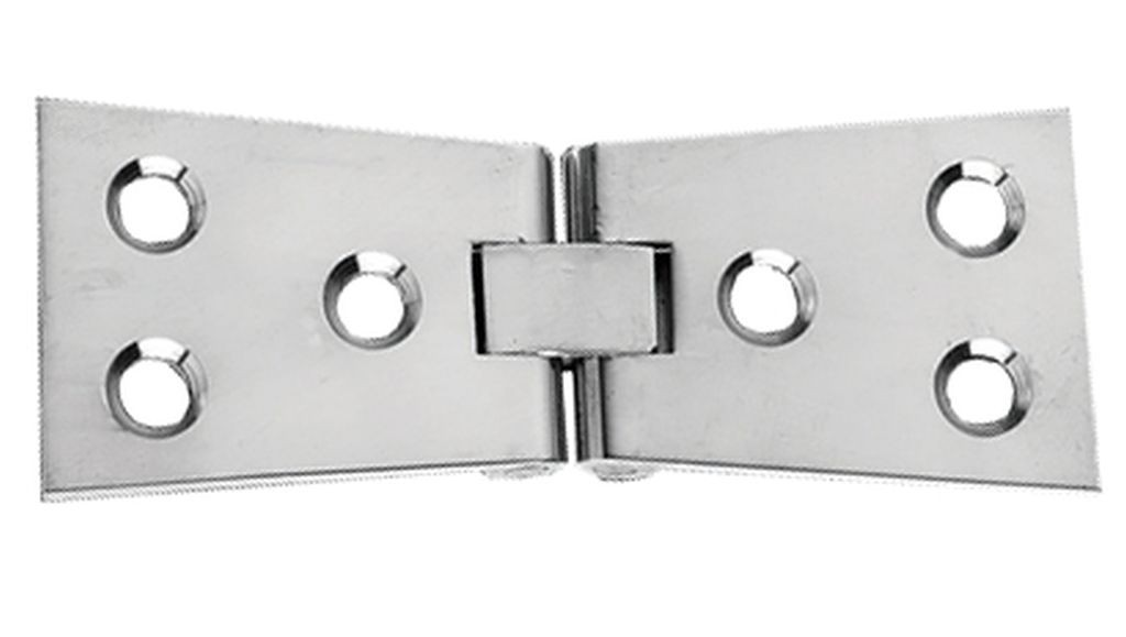 Pair Of Solid Brass Chrome Counter Flap Backflap Butterfly ...