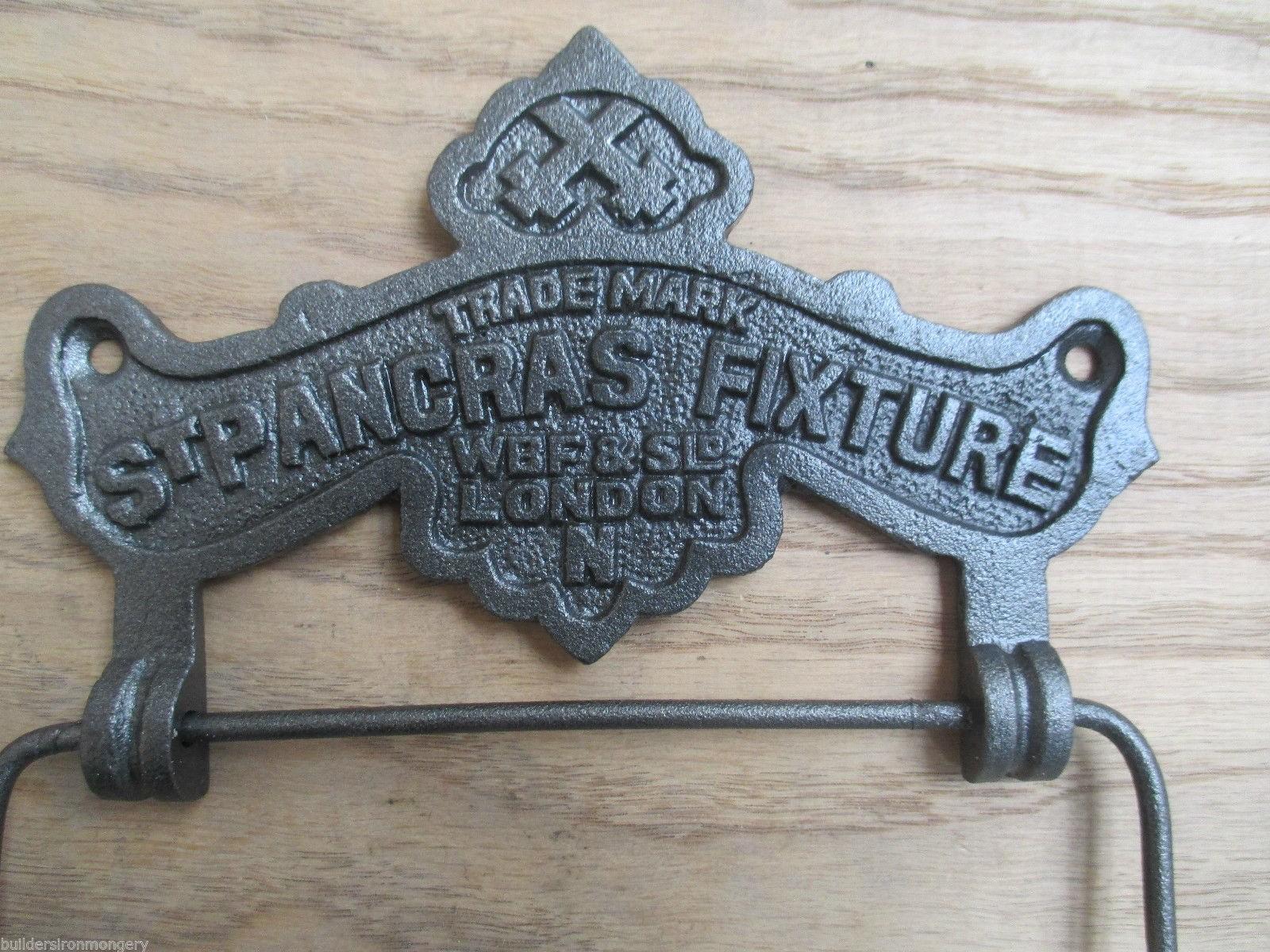 St Pancras Vintage Victorian Cast Iron Rustic Bathroom