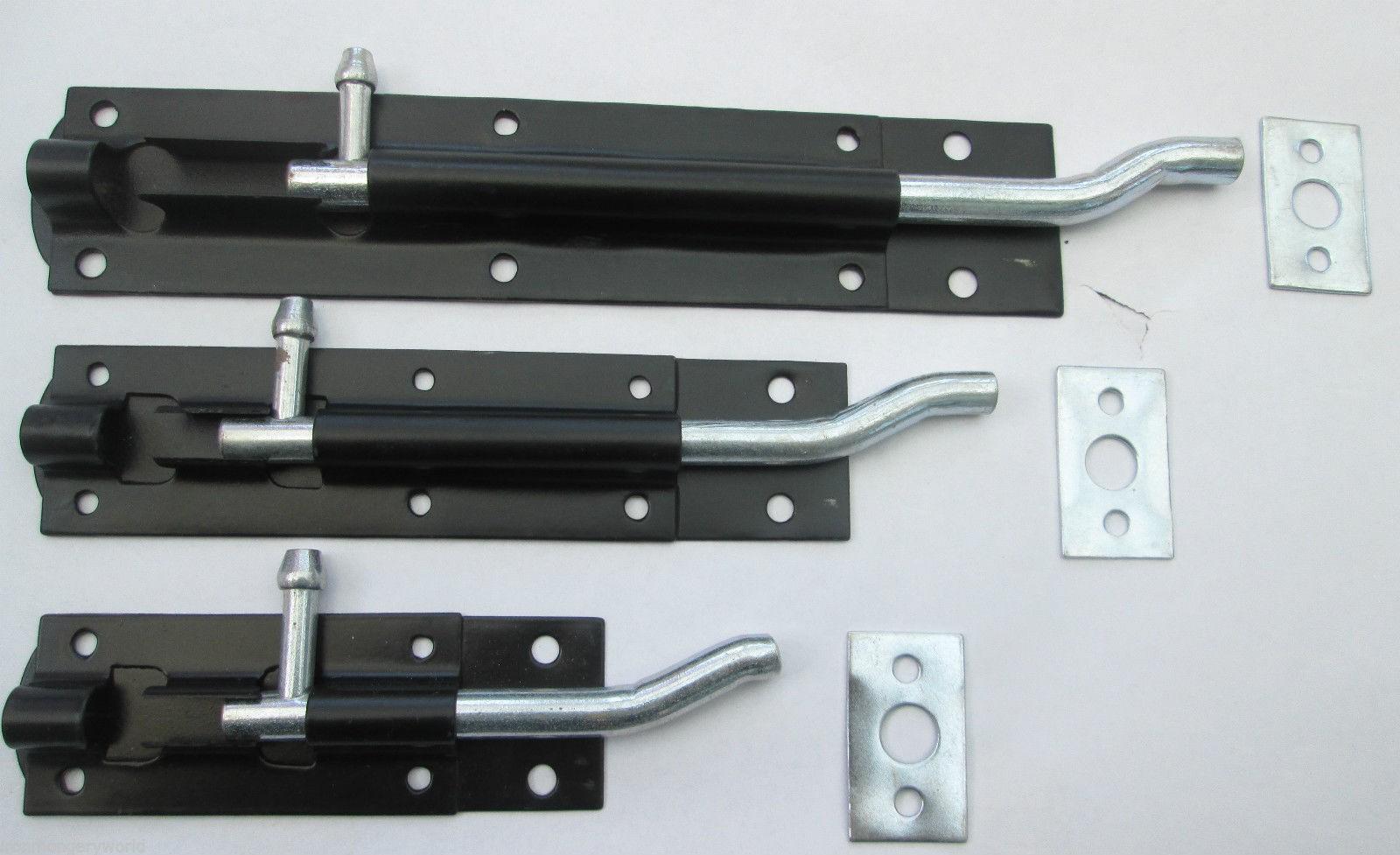 Steel Cranked Necked Door Bolts Ironmongery World