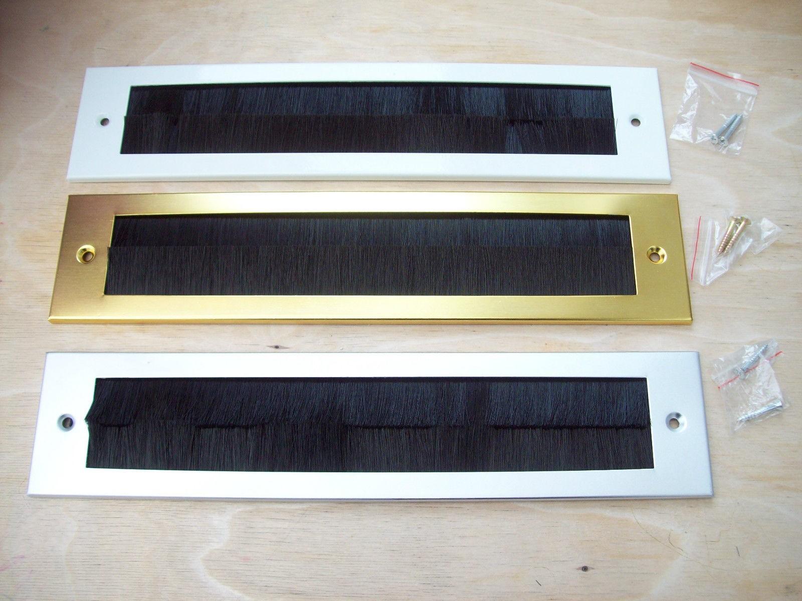 Steel Inner Brush Postal Box Plate Ironmongery World