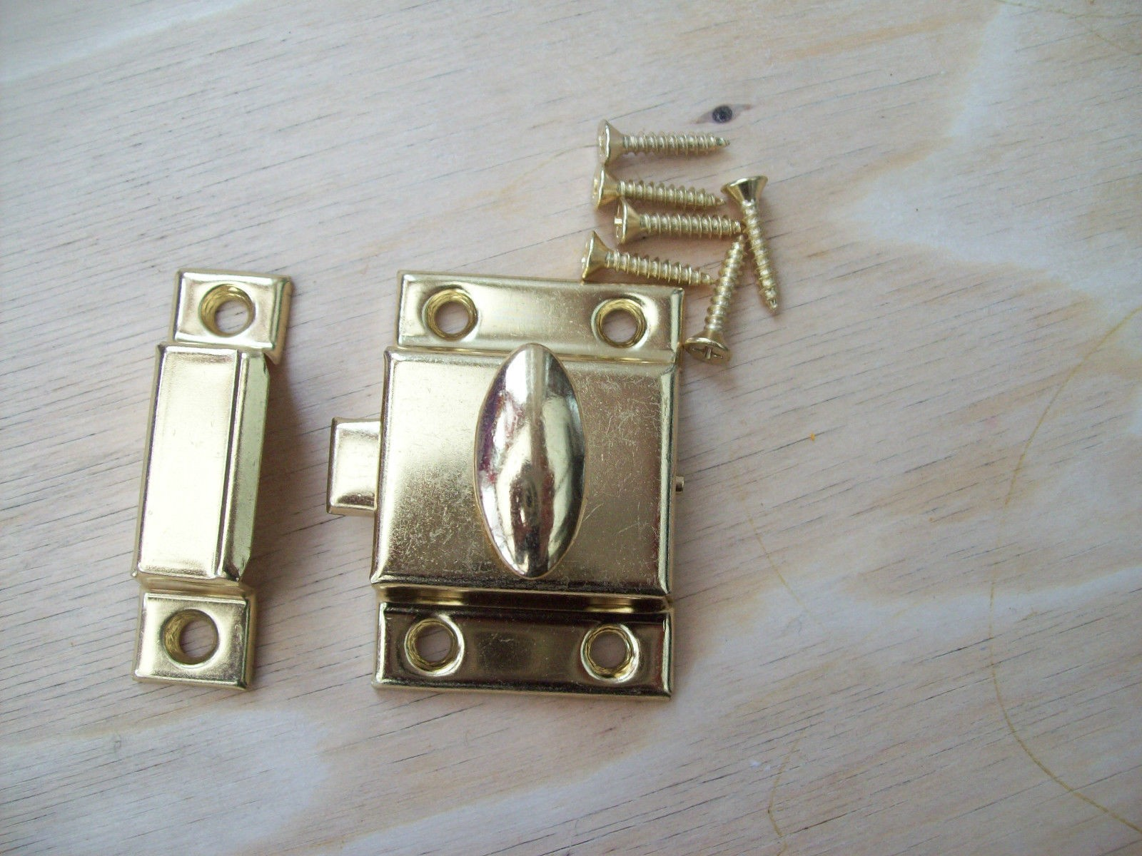 Cupboard And Cabinet Thumb Turn Latch Lock Ironmongery World