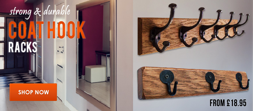 Strong and Durable Coat Hook Racks