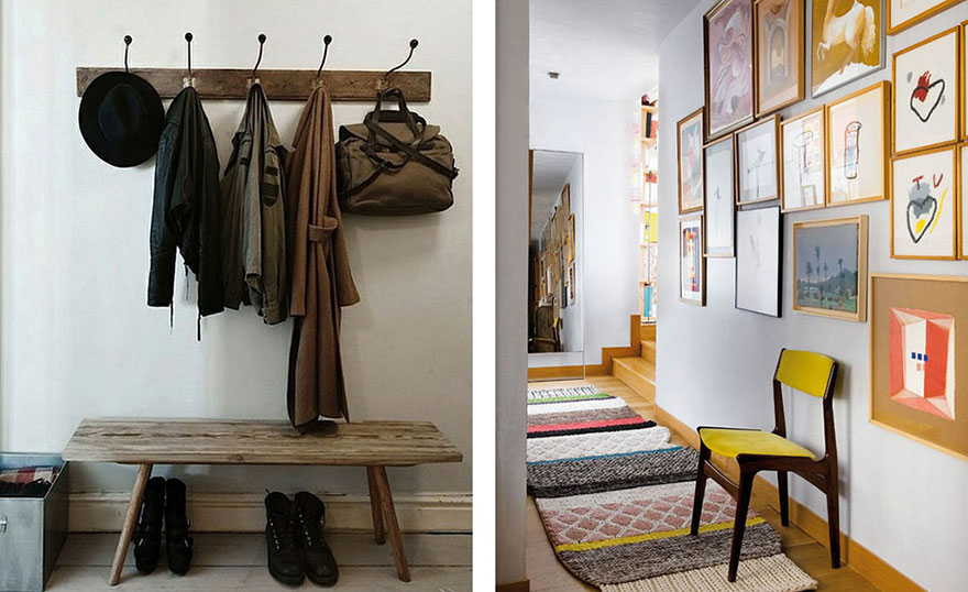practical entryway/hallway spaces