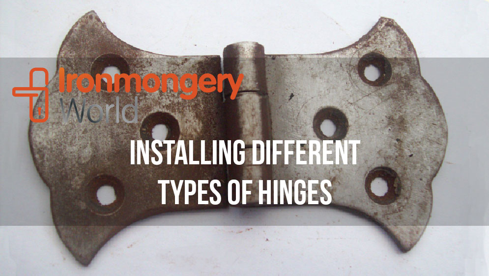 cabinet and door hinges at ironmongery world