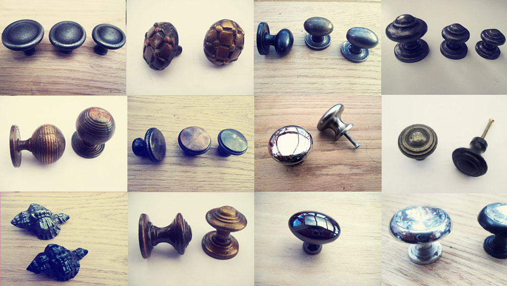 Ironmongery World's available cabinet knobs